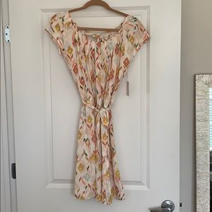 Fall Multi-colored Patterned Dress